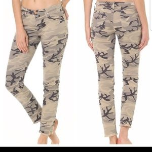 Angry Rabbit womens camo ankle skinny jeans